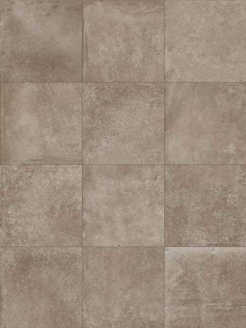 HMADE Cottocemento tan wall and floor times