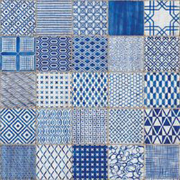 HMADE blue Maioliche Wall and Floor Tiles