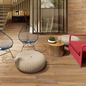 Oxford Natural Timber Tile