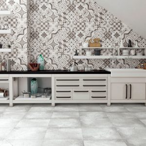 nice wall and floor tile