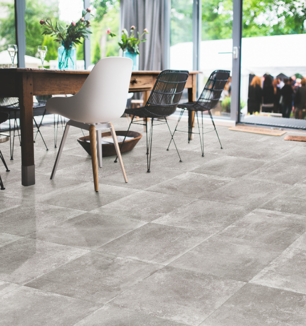 AgeStone grey wall and floor tile