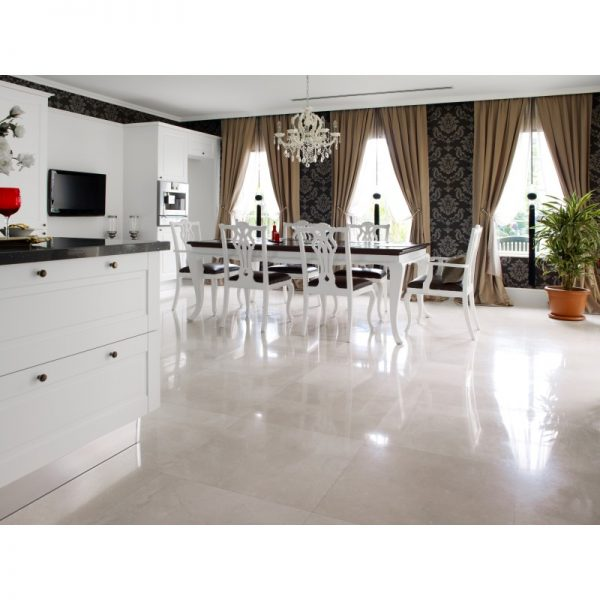 Pearl White Polished natural stone