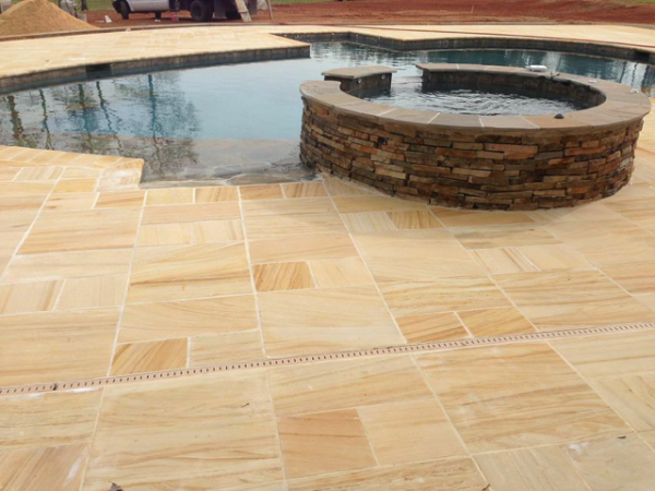 Avalon Sandstone pavers cladding