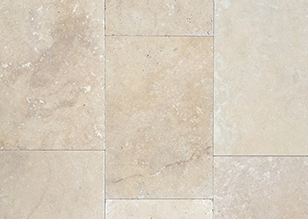 Travertine Classic Tumbled pavers and cladding