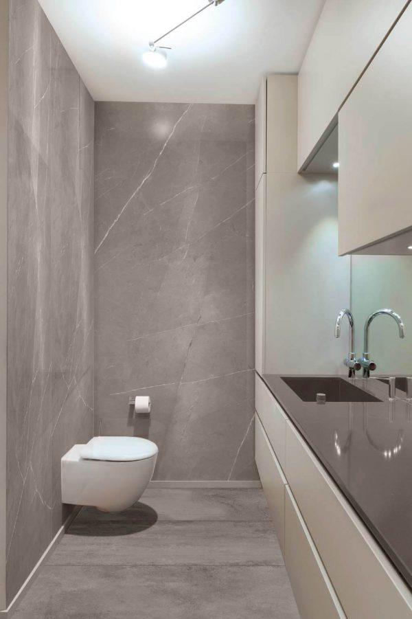 Kaizen Pietragrey Fog 270X121 Wall Tile Bathroom